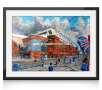 ibrox going to the match prints